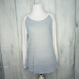 Abercrombie and Fitch Raglan Sleeve Shirt, Large